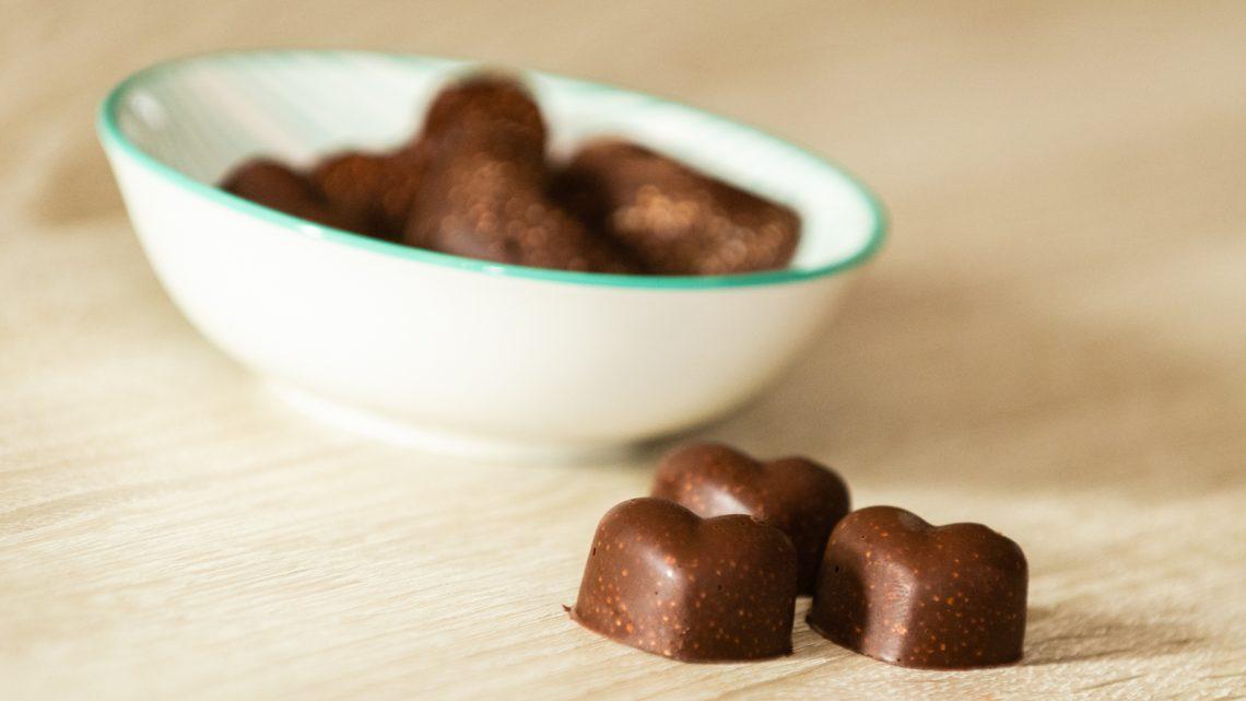 Crunchy chocolade bonbons