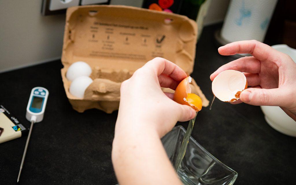 Eieren splitsen